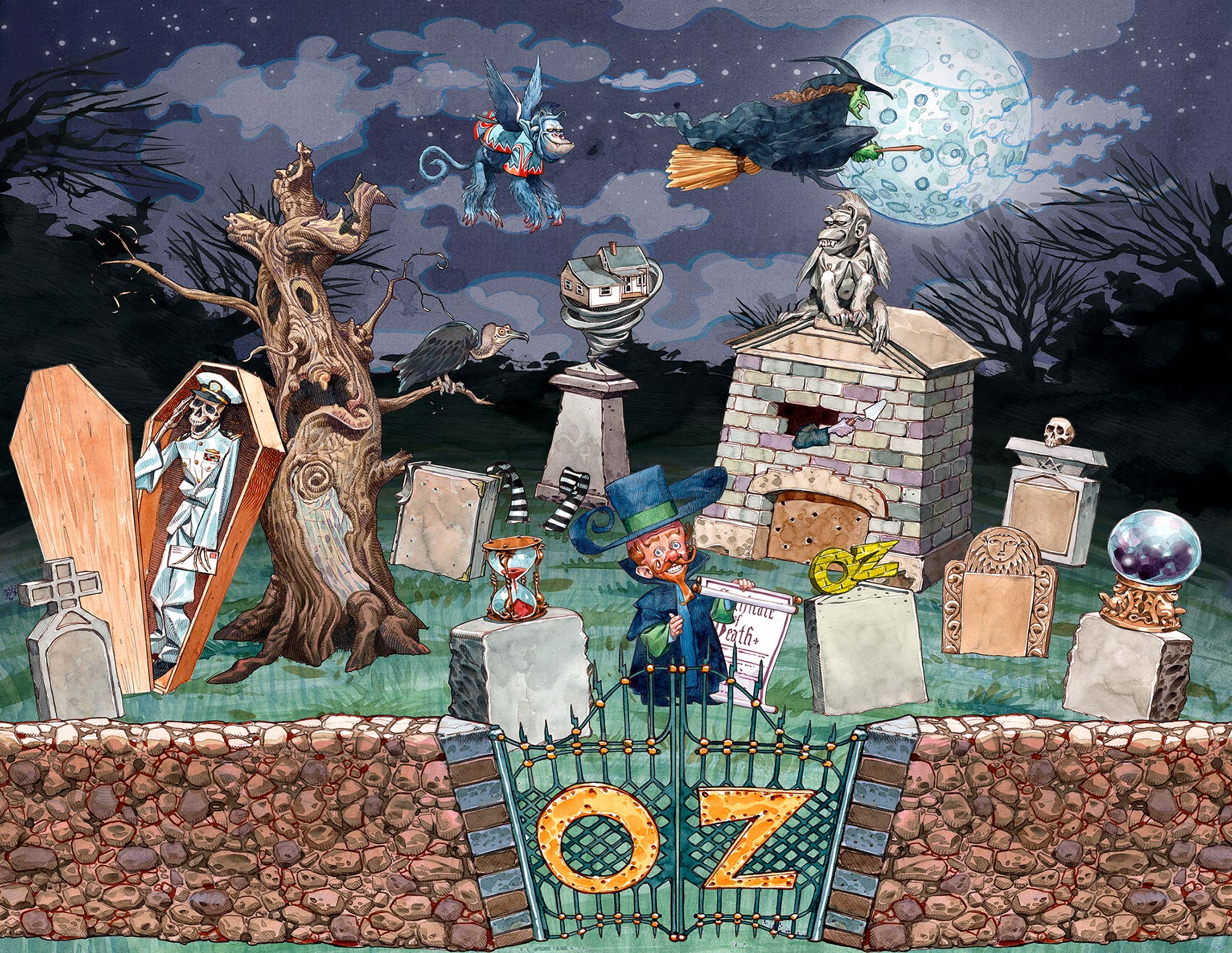 OZ illustration