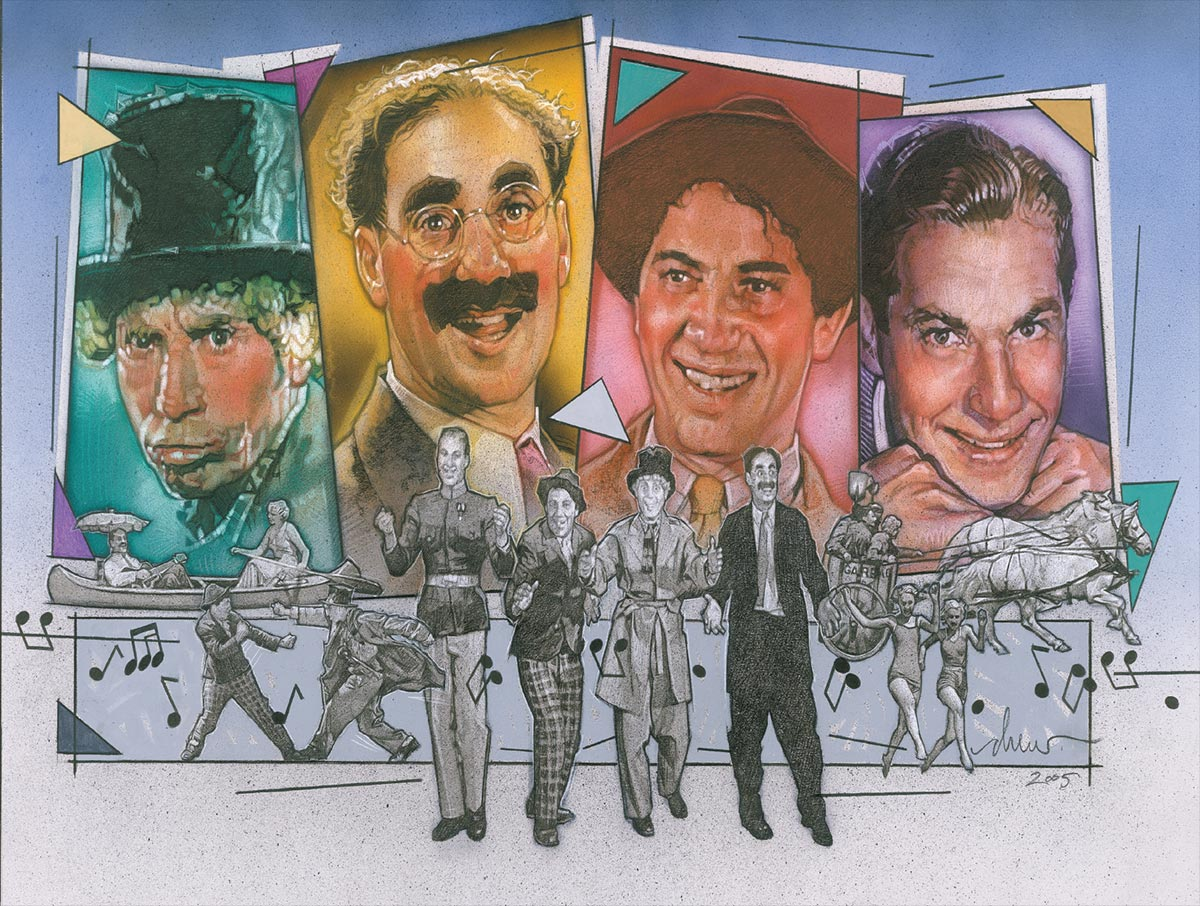 Art Ducko: An Illustrated History of the Marx Brothers